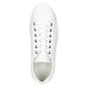 Bílé kožené tenisky bata, bílá, 526-1641 - 26