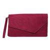 Dámské vínové psaníčko bata, červená, 969-5665 - 19
