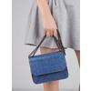 Modrá kabelka se strukturou bata, modrá, 961-9753 - 17