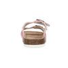 Kožená domácí obuv dámská de-fonseca, růžová, 573-5621 - 15