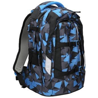 Modrý batoh se vzorem satch, modrá, 969-9049 - 13