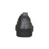 Dámské Slip-on na černé flatformě bata, šedá, 516-1613 - 17