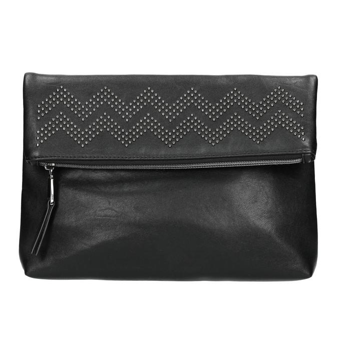 Crossbody kabelka s kamínky bata, černá, 961-6999 - 17