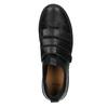 Černé kožené tenisky na suché zipy bata, černá, 526-6646 - 15