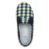 Dětská domácí obuv mini-b, vícebarevné, modrá, 379-0213 - 19