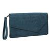 Dámské modré psaníčko s poutkem bata, modrá, 969-9665 - 13