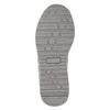 Stříbrné dívčí tenisky s kamínky mini-b, šedá, 329-2295 - 19