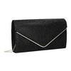 Černé dámské psaníčko bata, černá, 969-6661 - 13