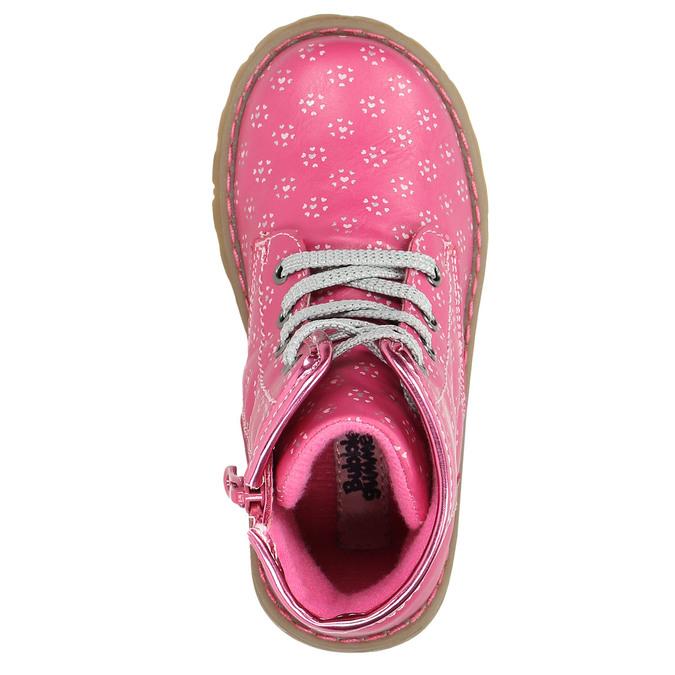 Růžová kotníčková obuv bubblegummers, růžová, 221-5606 - 26
