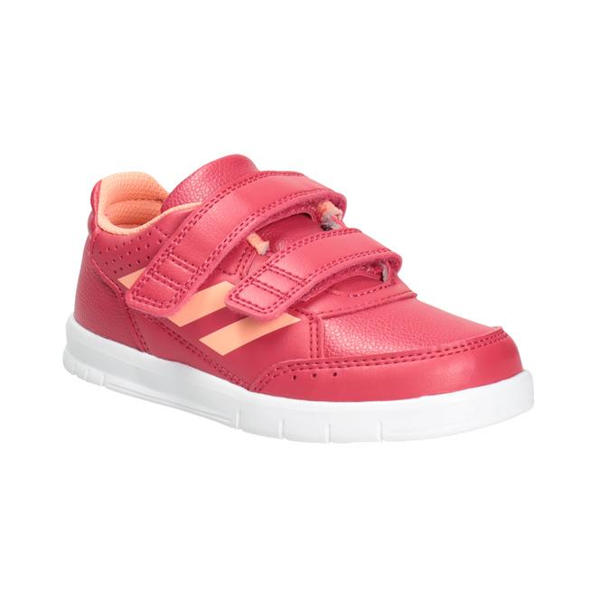 Dětské tenisky na suché zipy adidas, růžová, 101-5161 - 13
