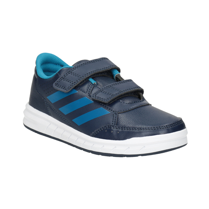 Modré dětské tenisky adidas, modrá, 301-9197 - 13