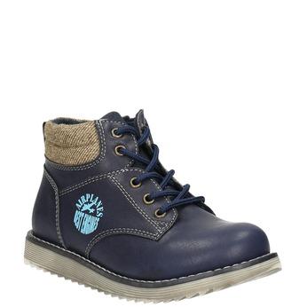 Kotníčková chlapecká obuv bubblegummers, modrá, 211-9623 - 13