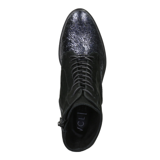 Kotníčková kožená obuv classico-and-bellezza, vícebarevné, 526-0028 - 15