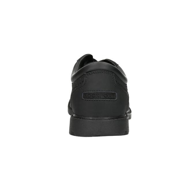 Pánské kožené polobotky rockport, černá, 826-6023 - 17