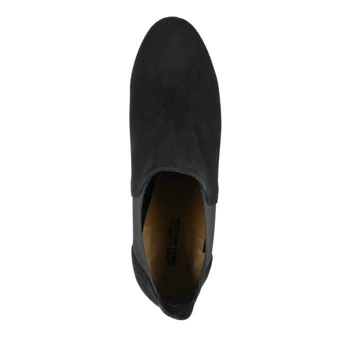 Kotníčkové kozačky na podpatku classico-and-bellezza, černá, 713-6027 - 15