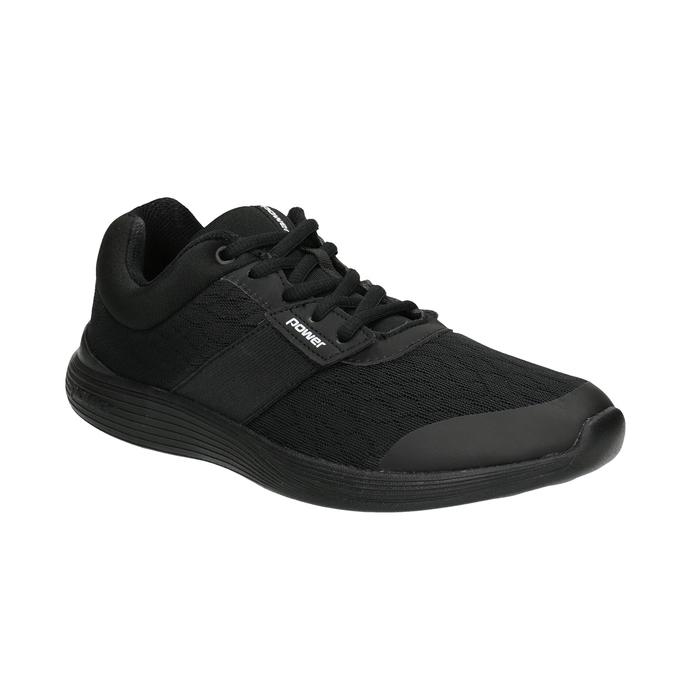 Dámské černé tenisky power, černá, 509-6203 - 13