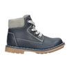 Kožená dětská obuv bubblegummers, modrá, 114-9610 - 15