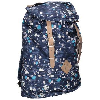 Batoh s barevným vzorem the-pack-society, modrá, 969-9076 - 13