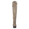 Hnědé dámské kozačky nad kolena bata, hnědá, 699-3634 - 17