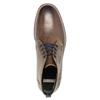 Kožená pánská kotníčková obuv bata, hnědá, 826-4614 - 19
