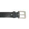 Černý kožený opasek bata, černá, 954-6192 - 26