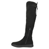 Dámské černé kozačky nad kolena bata, černá, 699-6634 - 26