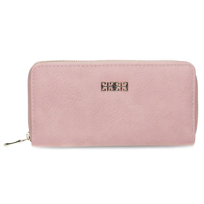 růžová dámská peněženka bata, růžová, 941-0180 - 26