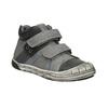Kotníčková dětská obuv na suché zipy mini-b, šedá, 211-2624 - 13