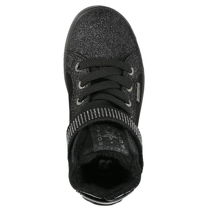Kotníčkové dětské tenisky mini-b, černá, 323-6172 - 26