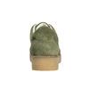 Dámské kožené khaki tenisky bata, zelená, 523-7604 - 17