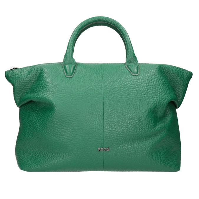 Kožená zelená kabelka bree, zelená, 966-7014 - 26