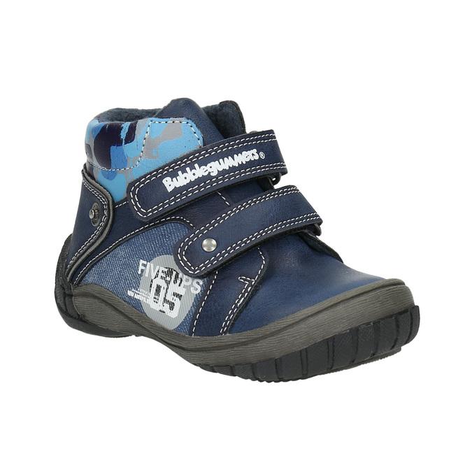 Kotníčková chlapecká obuv bubblegummers, modrá, 111-9618 - 13