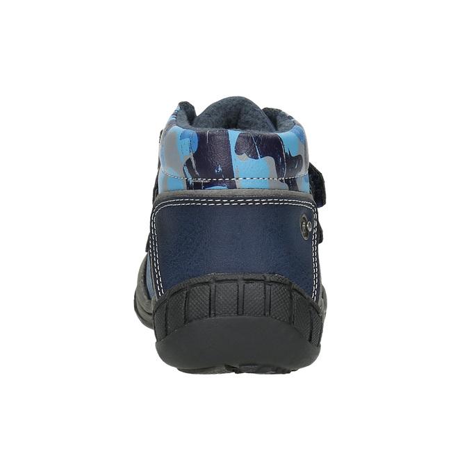 Kotníčková chlapecká obuv bubblegummers, modrá, 111-9618 - 17