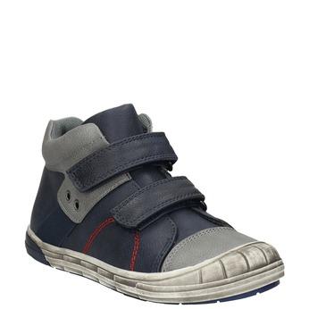 Dětská kotníčková obuv mini-b, modrá, 211-9624 - 13