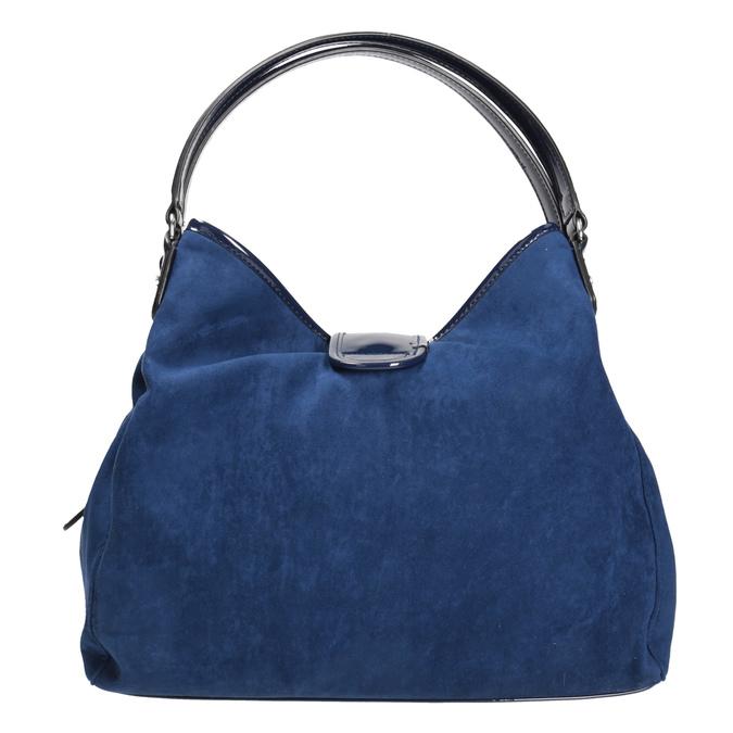 Modrá dámská kabelka bata, modrá, 969-9280 - 16