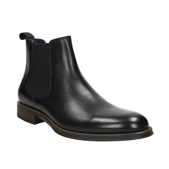 Kožené Chelsea Boots bata, černá, 894-6400 - 13