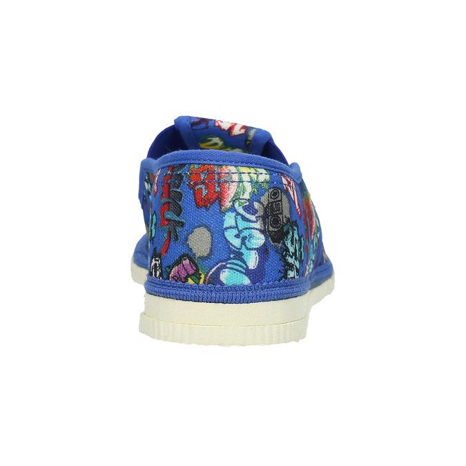 Dětské modré přezůvky bata, modrá, 379-9124 - 16