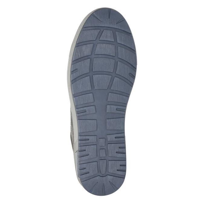 Pánské kotníčkové tenisky bata, šedá, 846-2651 - 19
