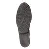 Kožená kotníčková obuv a-s-98, fialová, 516-5093 - 17