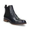 Dámská kožená Chelsea obuv bata, černá, 594-9636 - 13