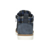 Dětská kotníčková obuv mini-b, modrá, 291-9172 - 16