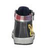 Dětská kožená kotníčková obuv bubblegummers, šedá, 114-2603 - 16