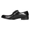 Pánské kožené Brogue polobotky bata, černá, 824-6227 - 26