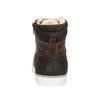 Dětská kotníčková obuv kožená bullboxer, hnědá, 494-4023 - 16