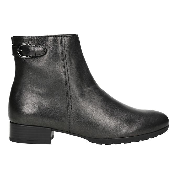 Kožená kotníčková obuv gabor, 616-4008 - 26