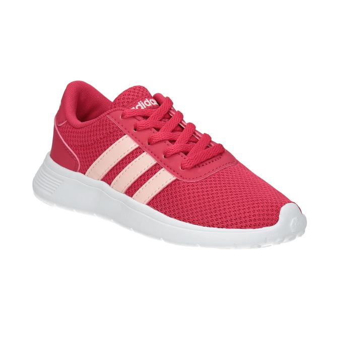 Růžové dívčí tenisky adidas, růžová, 309-5288 - 13