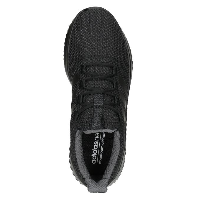 Pánské černé tenisky adidas, černá, 809-6204 - 15