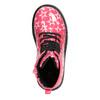 Dívčí šněrovací obuv s hvězdičkami mini-b, růžová, 291-5167 - 15