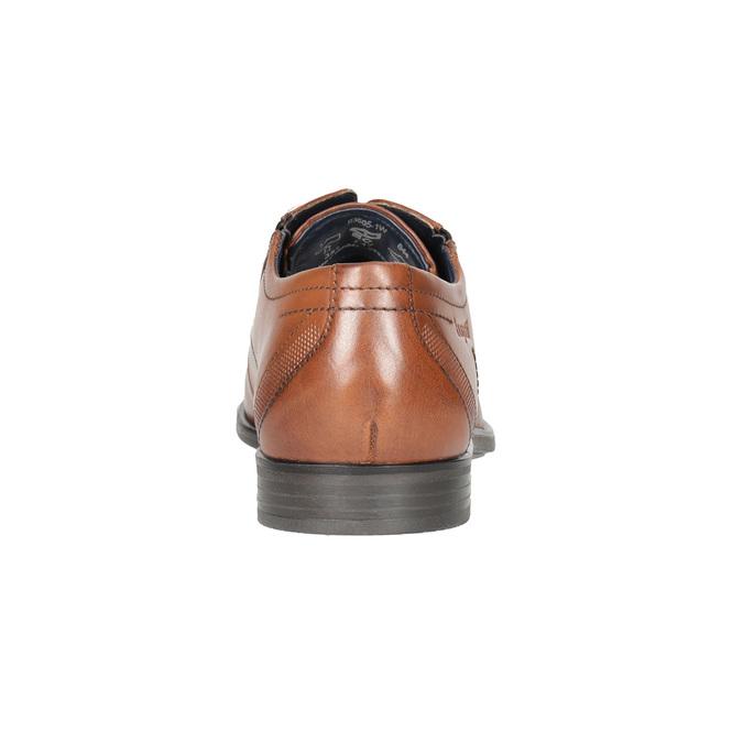 Kožené pánské Ombré polobotky bugatti, hnědá, 826-4012 - 16