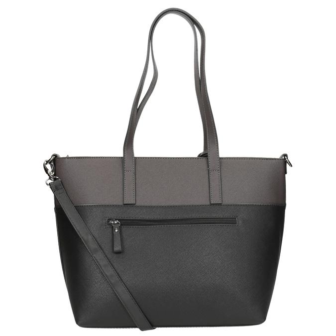 Dámská kabelka s popruhem gabor-bags, šedá, 961-2037 - 16